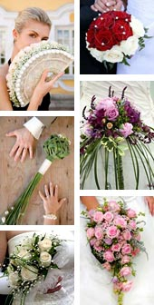 Different Bridal Bouquet Styles