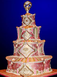 extraordinary wedding cake