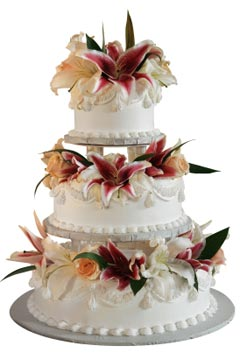 huge wedding cakes