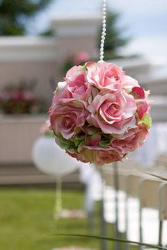 floral pomander ball