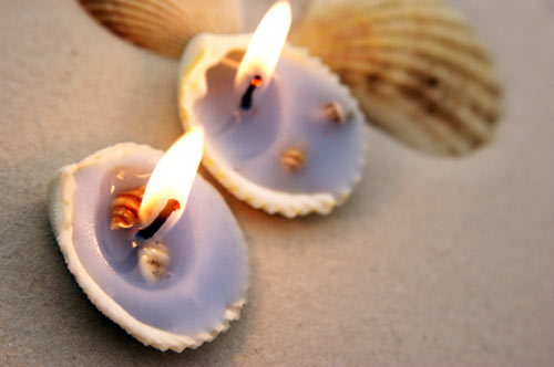 Interesting beach decorations handmade centerpieces pretty seashells