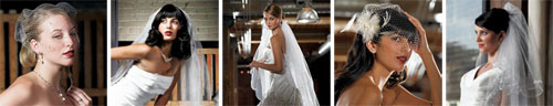 beautiful wedding bridal veils
