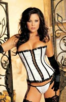 Corsets lingerie with matching panties