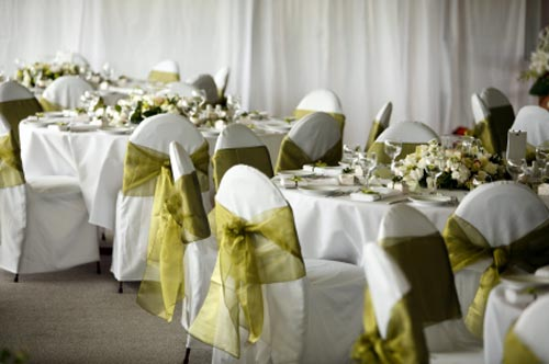 decorating for wedding receptions