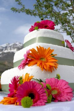 designer wedding cakes