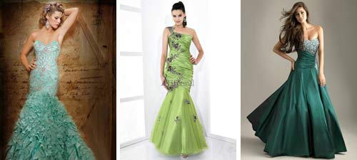 Collection of green wedding dresses green wedding dresses junglespirit Image collections