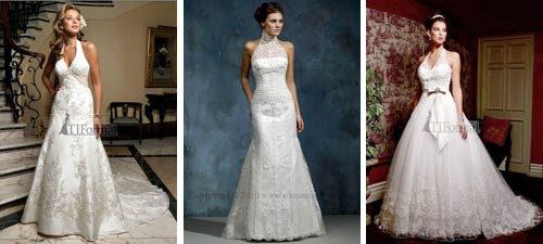 Halter Wedding Dresses