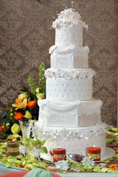Hexagon Wedding Cake Gallery