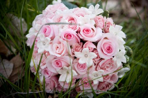 Bridal Bouquets Pink And White : Stunning pink bridal bouquet ideas pictures