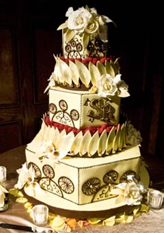 Cool Retro Wedding Cake Designs Vintage Cakes