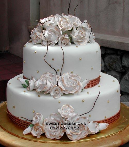 Inspirational, Romantic Wedding Cakes