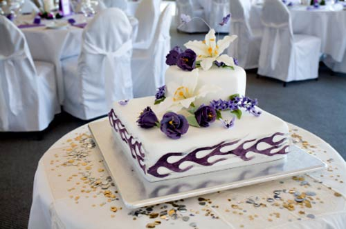 Fabulous square wedding cakes square wedding cakes junglespirit Gallery