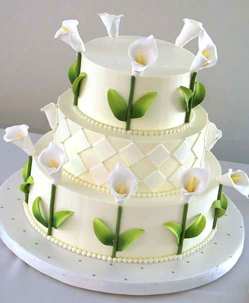 Summer Wedding Theme Cake Designs
