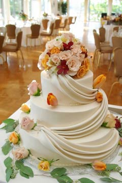 Cch lm bnh wedding cake flowers 19 Ngt ngo v lng mn vi bnh ci hoa