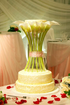 Cch lm bnh wedding cake flowers 20 Ngt ngo v lng mn vi bnh ci hoa