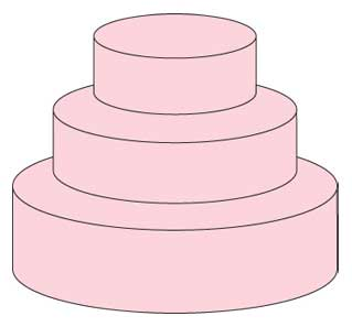 Wedding Cake Prices Up To 125 People 6 9 And 14 3 Tier 750