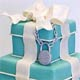 Tiffany Blue Wedding Cake Designs