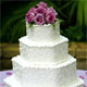 Hexagon Wedding Cake Designs