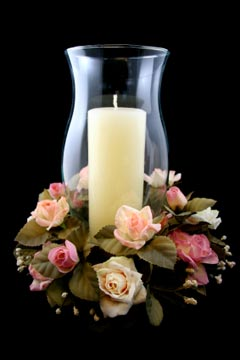 Bon Wedding Candle Centerpiece