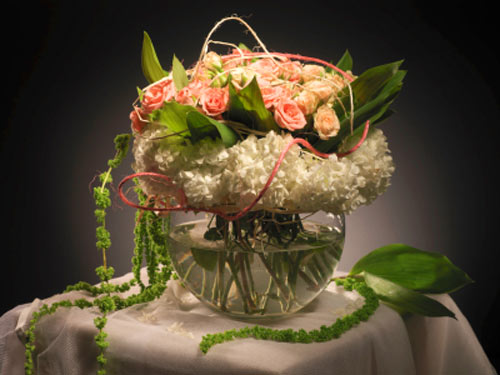 wedding centerpieces Unusual centerpiece