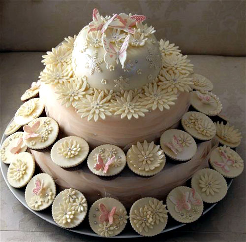 Cupcake Ideas For Wedding: Delicious Wedding Cupcakes, Pictures & Ideas