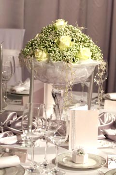 Wedding Floral Centerpieces, Simply Stunning