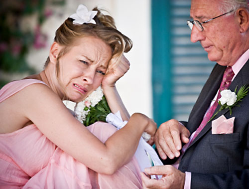 wedding insurance - wedding accident