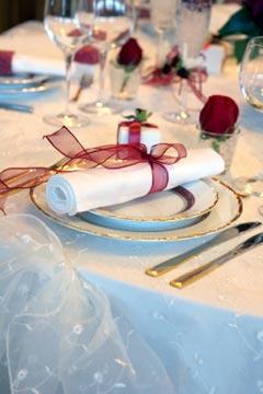 Wedding Napkins And Table Decoration Ideas