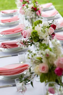Spring Wedding Reception Ideas