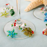 Wine Glass Charms & Rings