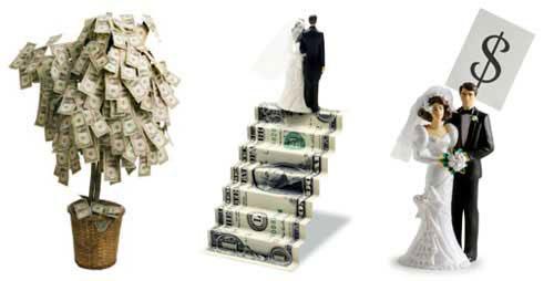 bridal ettiquette money