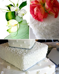 different wedding cake shapes