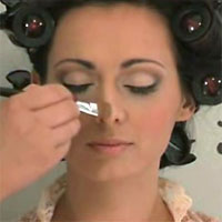 how to apply makeup pictures
