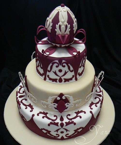 Art Deco Wedding Cake Decorations