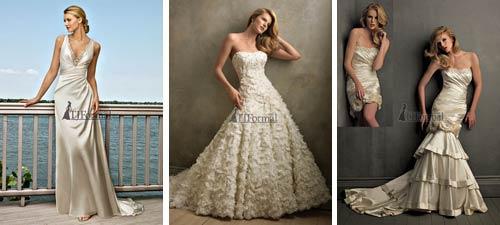 Ivory Wedding Dresses Gallery