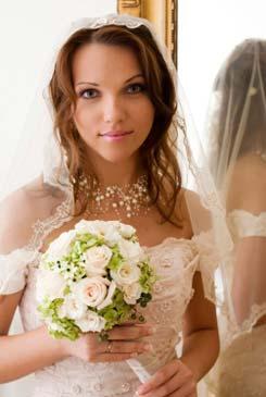 bridal bouquets - posy - rose bridal bouquet