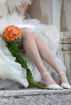 orange bridal bouquet pictures 6
