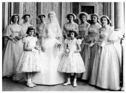 grace kellys bridal party