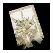 praybook bouquet, bible spray bouquet, book bouquet - bridal bouquets