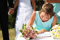 bridal party duties - maid of honor