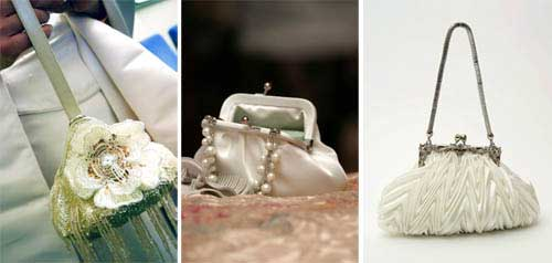 bridal purses accessories