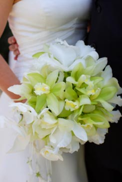 bridal bouquet pictures green 3