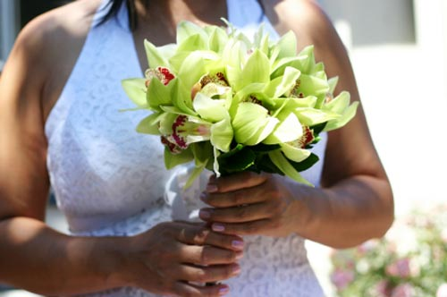 bridal bouquet pictures green 7
