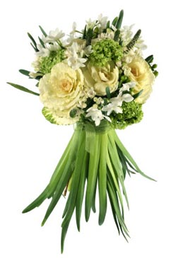 bridal bouquet pictures green 9