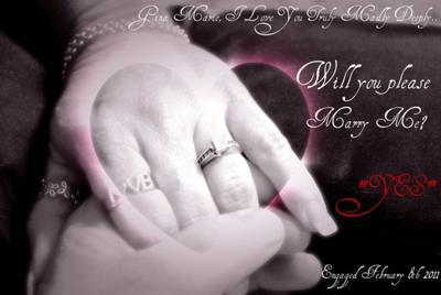 Engagement of Robert & Gina