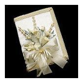praybook bouquet, bible spray bouquet, book bouquet - bridal bouquets