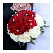 biedermeier bouquet - bridal bouquets