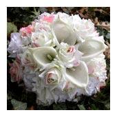 composite flower bouquet - bridal bouquet