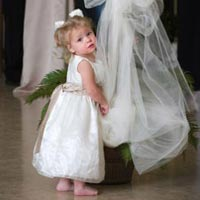 bridal party duties - flower girl etiquette