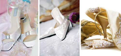 bridal shoes accessories
